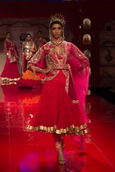 Suit by Suneet Verma at India Bridal Fashion Week 2014