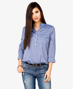 Forever 21 chambray
