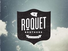 The Roquet Brothers Aviation #branding #design#logo