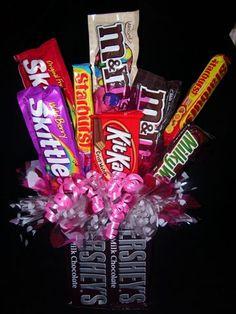 diy candy bouquet | Rustic Acres Candy Bouquets