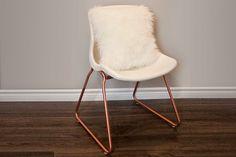 snill chair, metal spray