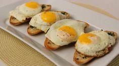 Homemade Breakfast Bruschetta