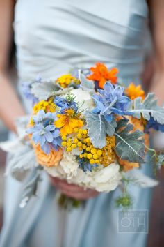 blue and orange: these colors are pretty too!