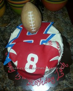 A Sports Cake for a True Athlete...