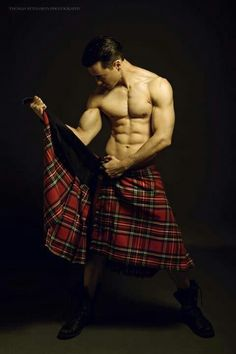Scottish kilts. YES!!!