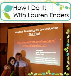 How I Do It:  Encouraging AAC Implementation