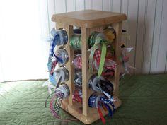 Spice Rack = Ribbon Organizer