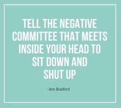 AMEN!!! Sit down and shut up!! happy thoughts, daily reminder, negat committe, remember this, shut, think positive, funny quotes, inspirational quotes, positive thoughts