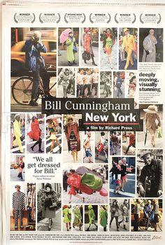 Posteritati - Bill Cunningham New York