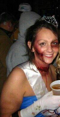 Dead Prom Queen Halloween Costume
