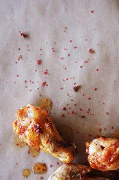 Pink Peppercorn & Honey-Glazed Chicken