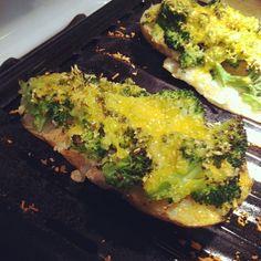 Made Skinny Taste's Broccoli and Cheddar Skinny Potato Skins. So good!