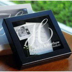 Wedding Wishes Shadow Box