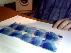 Окраска синий - YouTube