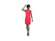 kostenloses Schnittmuster für ein Kleid.