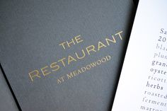 Dining Out: The Restaurant at Meadowood (St. Helena, CA) | Nom Nom Paleo