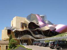 Marqués de Riscal Vineyard by Frank Gehry