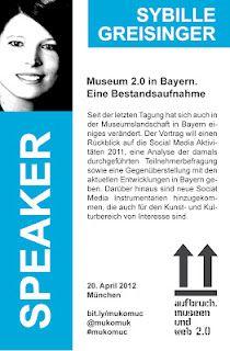 Sybille Greisinger - Speaker @ #mukomuc & #scmuc12 //  http://scmuc.posterous.com
