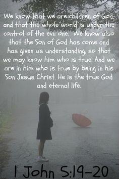 1 John 5:19-20