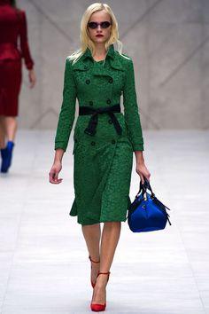 lace coat. Burberry Prorsum S/S 2013