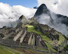 mysterious ruins of Machu Picchu, Peru