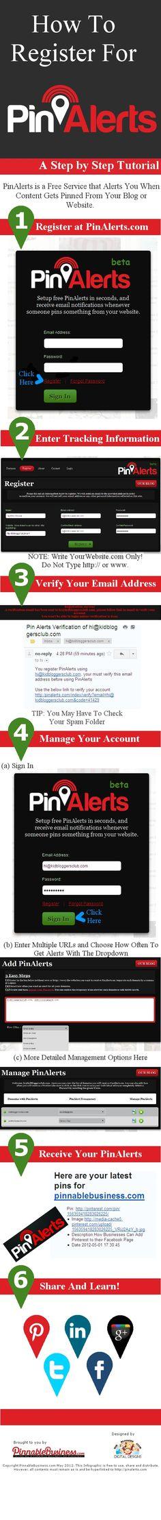 PinAlerts - Get notified.