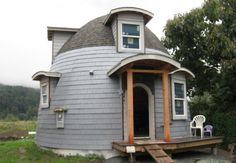 Lexa Dome Tiny Homes: 540 Sq Ft Dome Cabin