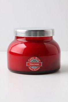 Capri Blue Jar Candle, Red #anthropologie $28