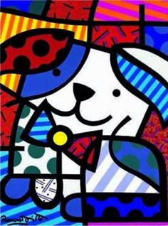 Ginger by Romero Britto