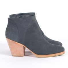 Rachel Comey Mars boot in navy nubuck