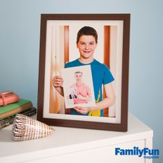 Fathers and Sons: Celebrate Dad (and Granddad!) with a three-generations-in-one Father's Day gift.
