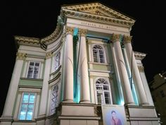 Theater in Prague wh