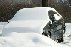 Use Vinegar and Water to Defrost a Windshield: A homemade solution of vinegar and water can help in scraping the ice off a windshield. The acidity in vinegar will make the ice melt and allow you to use less effort to scrape the ice away.
