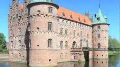 Funen (Denmark) Travel - Egeskov Castle, via YouTube.