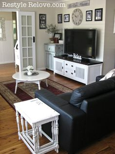Thrifty Decor Mom: The TV Wall