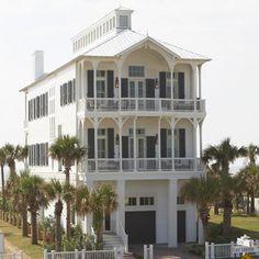 Beach house on Galveston Island