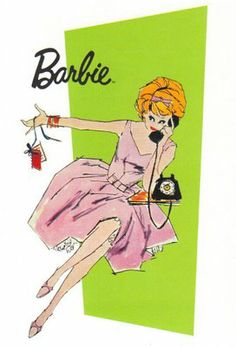 Vintage Barbie graphic