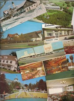 Retro Michigan restaurants and motels