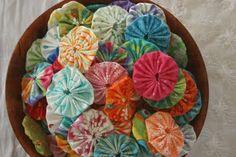 (Jenni) A great way to use scraps of fabric! #Idea #Inspiration