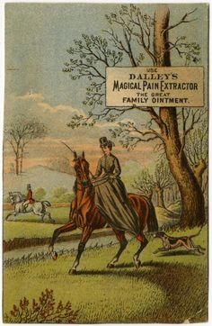 Patent Medicine Trade Cards, c.1900.