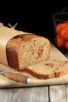 Whole Wheat Flaxmeal Banana Bread