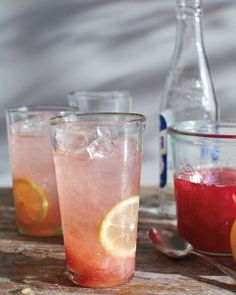 Rhubarb Fizz Recipe