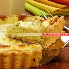Receita de Torta 4 queijos