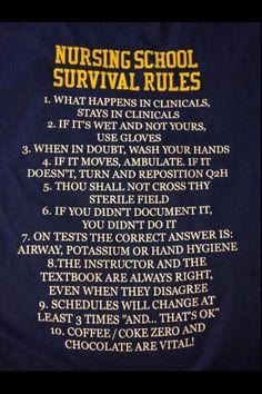 nursing school survival