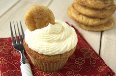Snickerdoodle Cupcakes @alykat007