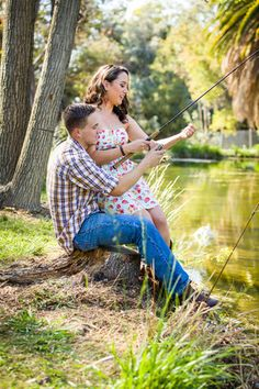 Country engagement pictures - fishing