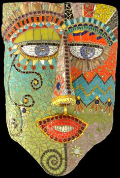 "Mask - ""Giordano"" by Irina Chamy 2003"