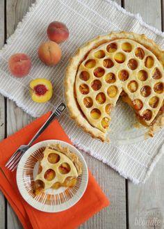 Baking with Blondie : Classic Peach Pie