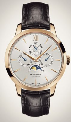 Mont Blanc Meisterstuck Heritage Perpetual Calendar #Mont Blanc #Watches #Relojes