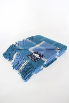 The Penfield Picnic Blanket in Blue